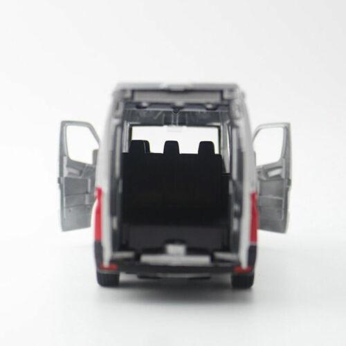1:36 Sprinter Van Cargo Die Cast Modellauto Auto Spielzeug Grau Geschenk Kinder