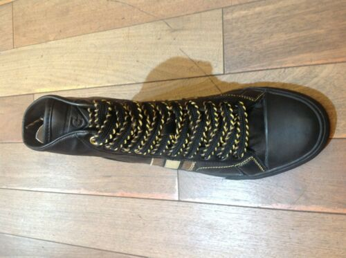 GUESS High Hi Top Homme Chaussures Mode Sneakers Noir