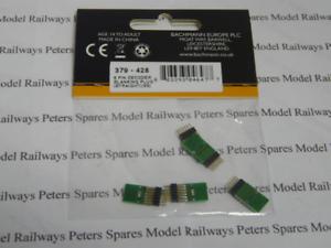 Graham Farish 379-428 6 Pin Decoder Blanking Plug (Straight) (Pk5) N Gauge