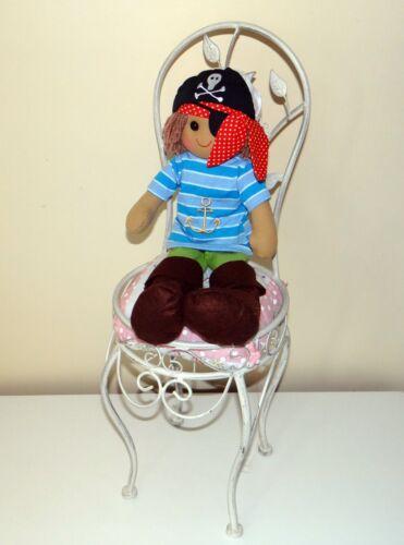Nome Personalizzato Regalo Nave Pirata Barca ancoraggio BOY Bambola di pezza 45cm GIOCATTOLO BAMBINO
