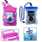 Waterproof Underwater Digital Camera Case Cover Bag Pouch Diving Swimming