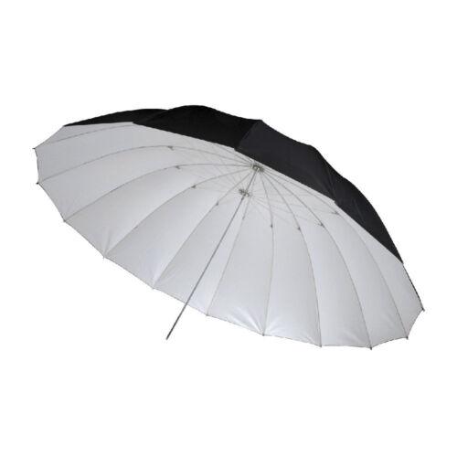 Studio paraguas reflector Umbrella negro//blanco Ø 150 cm