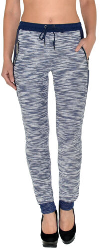 Donna Pantaloni Pantaloni sportivi da donna sportivi fitness pantaloni baggyhose Casual h198