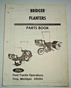 image is loading ford-bridger-planters-parts-catalog-manual-book-7-