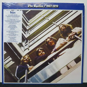 BEATLES-039-1967-1970-Blue-Album-039-Gatefold-180g-Vinyl-2LP-NEW-SEALED