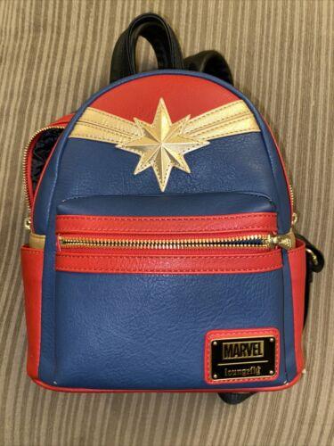 Captain Marvel Loungefly Mini Backpack