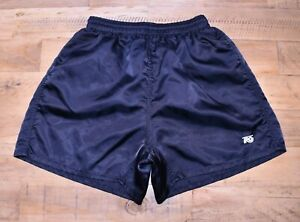Tro-Vintage-Nylon-Shiny-Fussball-Running-Retro-80s-90s-Shorts-Sprinter-Gr-XS-S