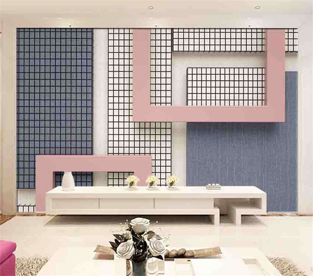 Maze Of Squares 3D Full Wall Mural Photo Wallpaper Printing Home Kids Decor