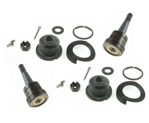 For Chrysler Dodge Pair Set of 2 Front Lower Press-in Type Ball Joints Moog