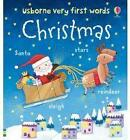 Usborne Very First Words: Christmas by Felicity Brooks (Board book, 2010)
