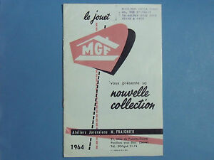CATALOGUE-MGF-1964-GARAGE-STATION-CHATEAU-FERME-VROOM-REPRO