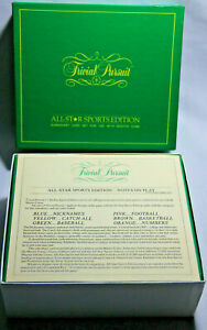 Trivial-Pursuit-Cards-1980-All-Star-Edition-Use-Alone-Or-With-Master-Game