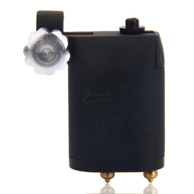 Pro Rotary Motor Tattoo Machine Gun Supply Set for Liner & Shader Black Color