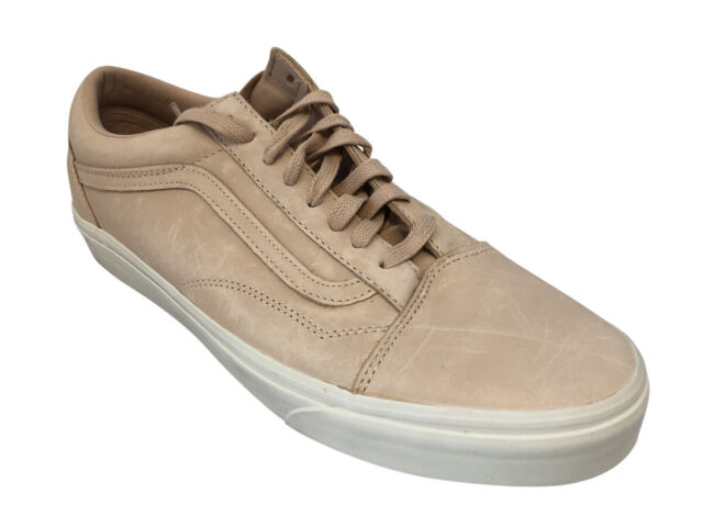 368ae848d7 VANS Mens Old Skool DX Veggie Tan Leather Skate Shoes Size 10 Vn0a32gjlui