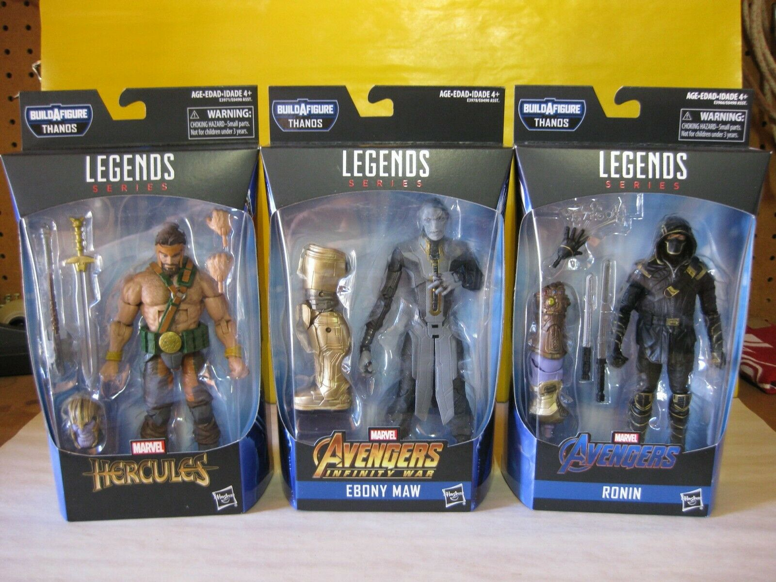 2018 Marvel Legends 6  Avengers  Endgioco Armorosso Thanos BAF Set Of 6 nuovo MIP  best-seller