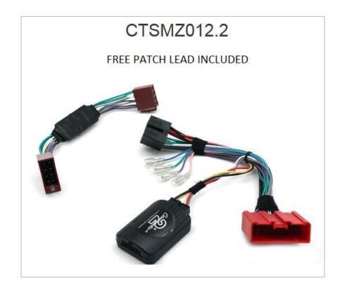 Connects2 ctsmz012.2 tallo directivo Adaptador Mazda Mx-5 Bose 1999 relativa Alpine