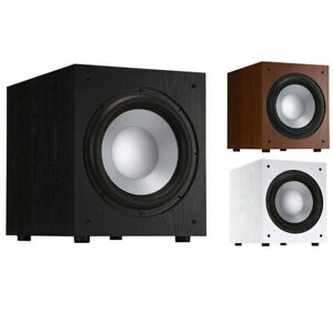 """Jamo  J12 SUB 12"""" 400W Active/Powered Subwoofer Speaker for Home Theatre System"""