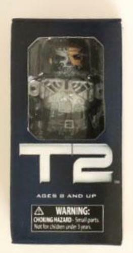 DSAP1094 MiniMates Single Pack Terminator 2 Half Human Terminator