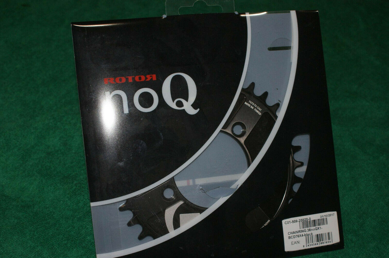 redor noQ X1  36t chainring NEW 76 x 4 bcd  great offers