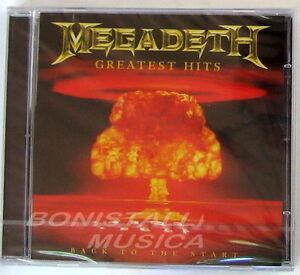 MEGADETH-GREATEST-HITS-BACK-TO-THE-START-CD-Sigillato