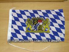 Fahnen Flagge Bayern Bavaria Lion  Bootsfahne Tischwimpel - 30 x 45 cm