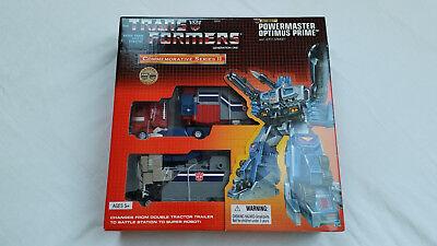 *** Transformers Riemettere Powermaster Optimus Prime Nuovo In Scatola Sigillata ***-mostra Il Titolo Originale Squisito Artigianato;