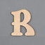 En Bois Lettres-Alphabet Mots nom-Coffre à Jouets-Craft 50-200 mm Belshaw #207