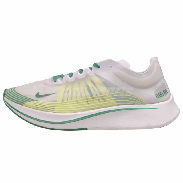 d3dd59d2bb8d Nike Zoom Fly SP Running Mens Shoes Oregon Ducks White Green AJ9282-101