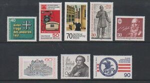 Germany-Berlin-1977-9-8-x-different-Issues-MNH