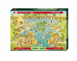 Heye Puzzles - 1000 Piece Jigsaw Puzzle - Nile Habitat, Degano HY29693