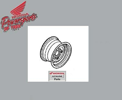 NEW OEM 04-06 HONDA TRX350 RANCHER TE TM 2X4 FRONT WHEEL RIM 44650-HN4-M00ZA