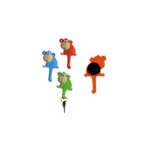 """Magneti appenditutto /""""La simpatica scimmietta/"""" in 3 colori"""