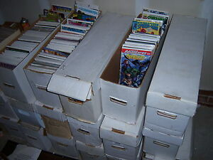 1-box-Lot-of-80-comics-Marvel-DC-amp-other-Publishers-NO-duplication-free-shipping