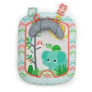NIB Bright Starts Safari Adventures Prop and Play Mat