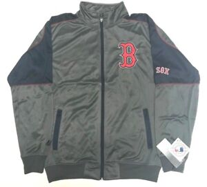 f13a7e59 Details about BOSTON RED SOX FULL ZIPP TRACK JACKET NEW W TAGS MAJESTIC  MENS TALL SIZES MT-XLT