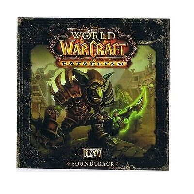 World of Warcraft - CATACLYSM Soundtrack - CD - OST- WoW - Blizzard