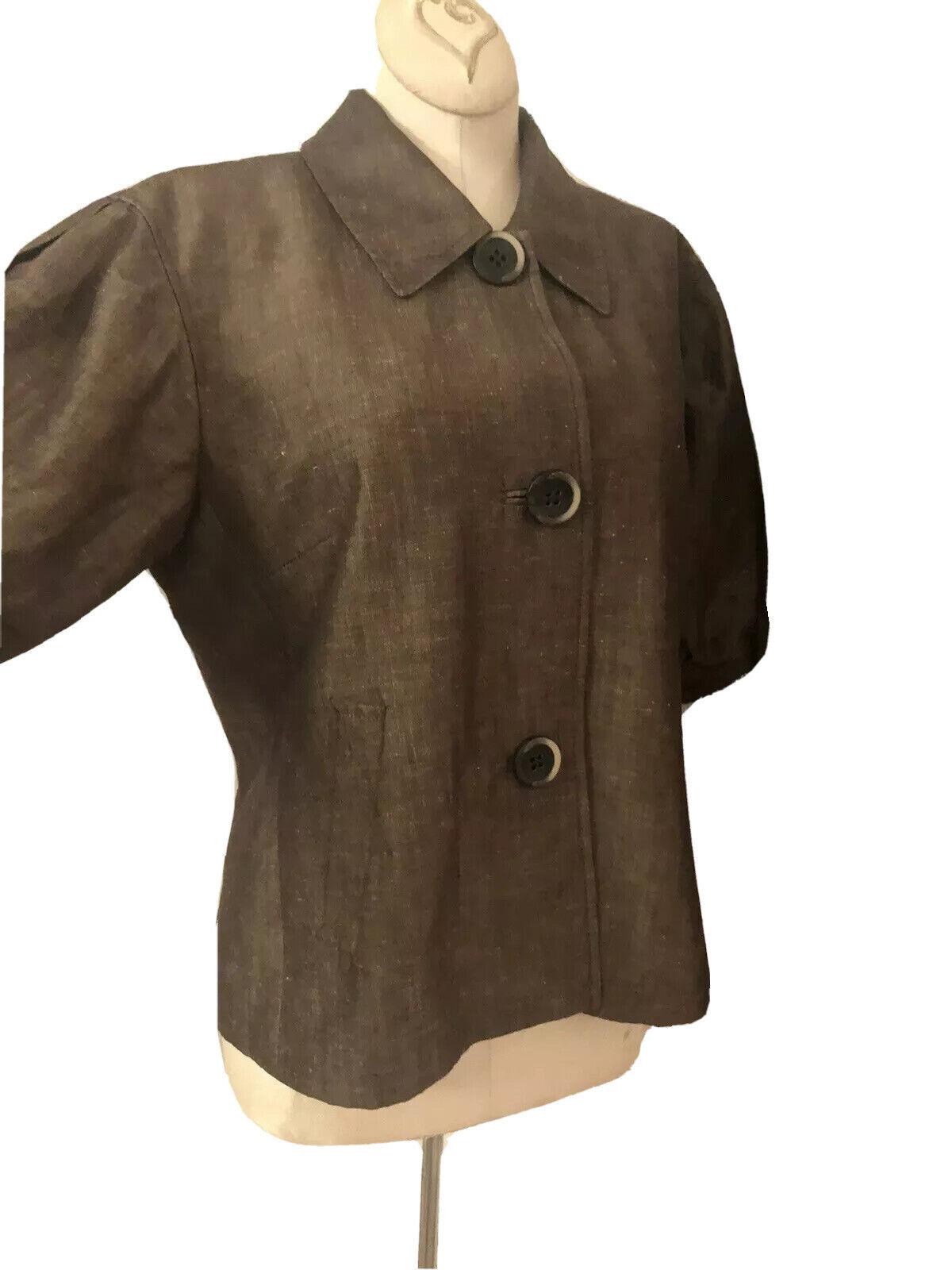 Lafayette 148 New Linen/Wool Blend Pant Suit Size… - image 7