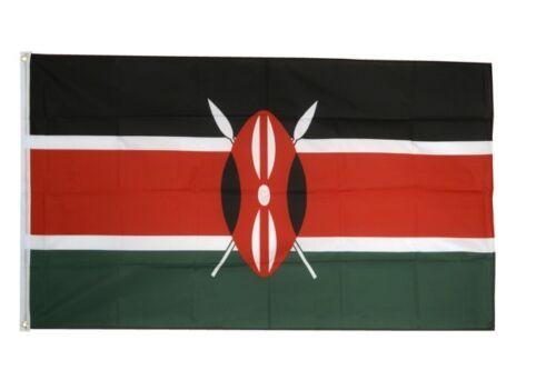 Kenya Hissflagge kényan drapeaux drapeaux 60x90cm