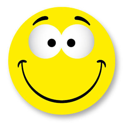 Magnet Aimant Frigo Ø38mm Smiley Face Smile Smiling Emo Emoticones Happy Face