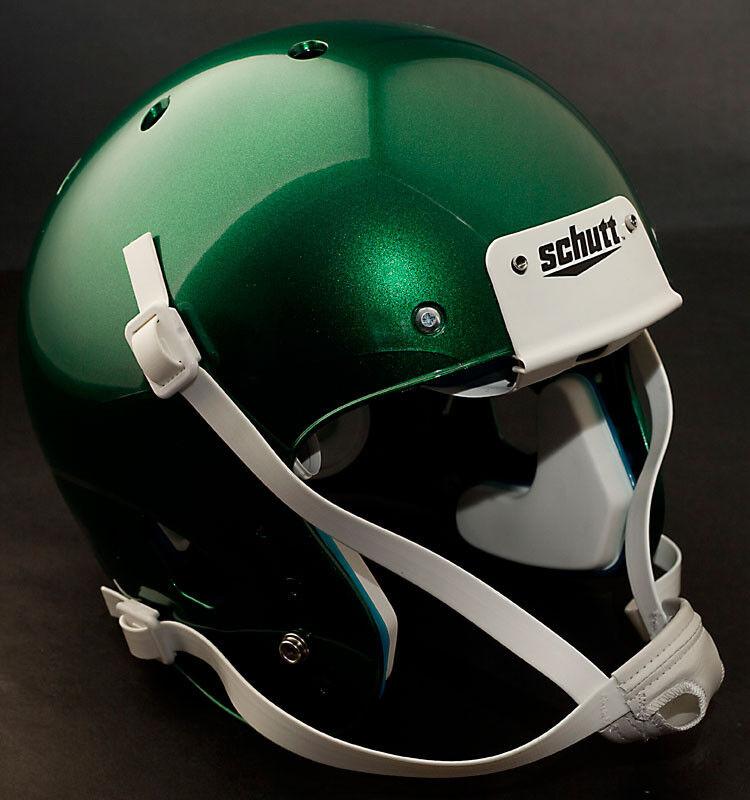 Schutt AiR XP Football Helmet LARGE (color  METALLIC DARK GREEN) NEW