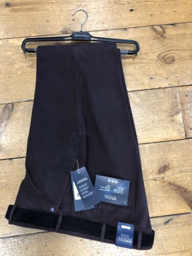 30 vino Venice Winter 38 spazzolato 2018 in Bruhl® cotone New B Stretch Pantaloni wzF0qHBn