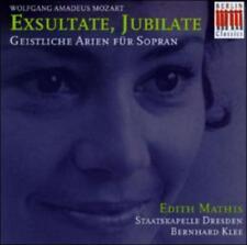 Edith Mathis - Mozart: Exsultate, Jubilate - Geistliche Arien für Soprano, New M