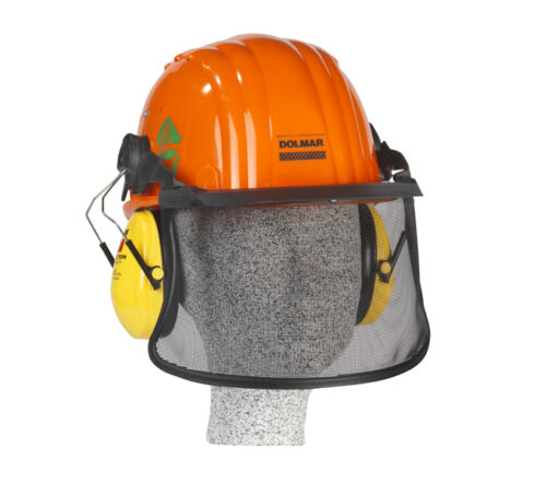 DOLMAR Profi Plus Forsthelm Gesichtsschutz Schutzhelm Kopfschutz 988.000.041