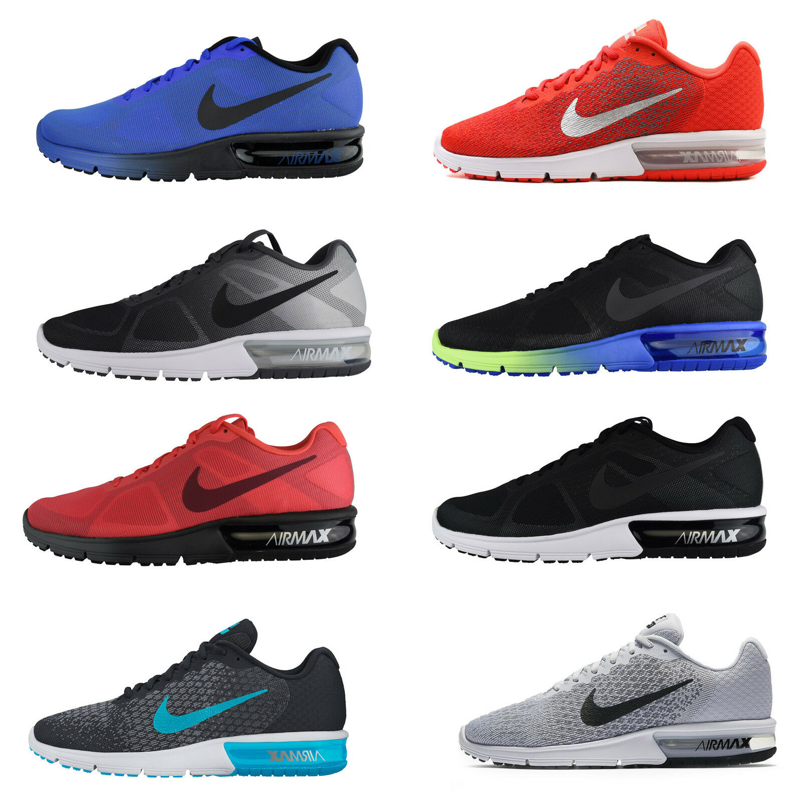 Nike Air Max Sequent Running Shoe 2 Essential Sneaker Schuhe NEU