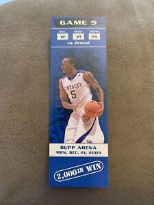 UK Kentucky Wildcats Basketball 2K wins Souvenir Ticket ...