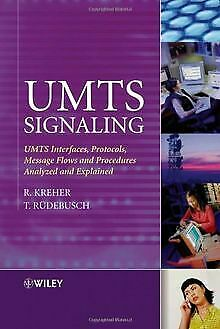 UMTS Signalling: UMTS Interfaces, Protocols, Messag... | Buch | Zustand sehr gut