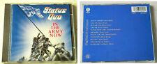 Status quo in the Army Now... SILVER RED VERTIGO CD