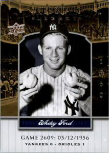 2008 Upper Deck Yankee Stadium Legacy Collection #2609 Whitey Ford - NM-MT