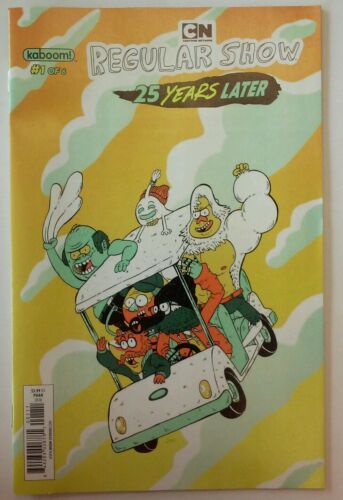 Regular Show 25 Years #1 Phan Cover