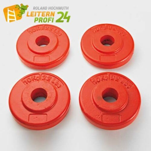 Scheibe rot lackiert Zarges Ballastgewicht 10 kg